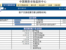 2016.2.22杭州点石股指期货配资客户保证金监控中心随机展示