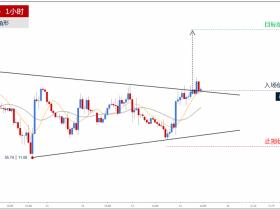 原油价格突破三角形上轨 预期上涨目标见58.83</a>
